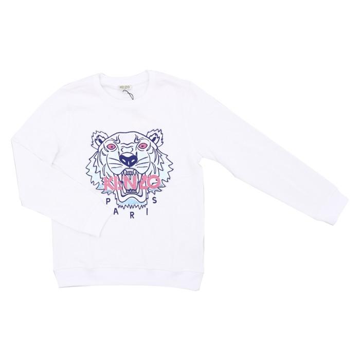 d2146aa59 White Blue Tiger Sweatshirt (14 years)