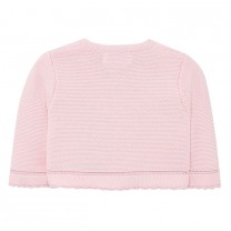 Baby Pink knitted cardigan