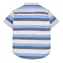 Blue Stripes Cotton Shirt