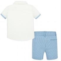 Linen Shorts Set