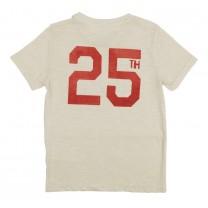 Ivory White Graphic Printed T-shirt