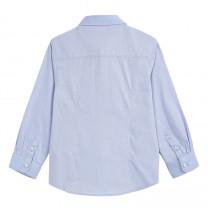 Long Sleeve Bow Tie Formal Shirt