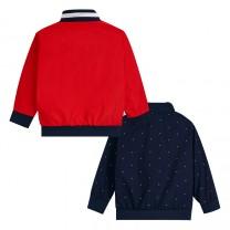 Reversible Windbreaker Print Jacket