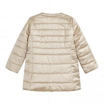 Metallic Gold Puffer Jacket