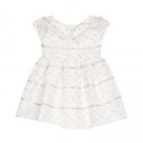 Embelished White Dress