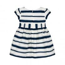 Navy Short Sleeve Dress