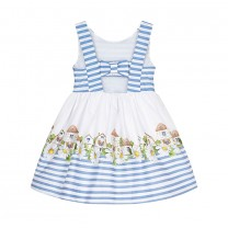 Striped dress for girls