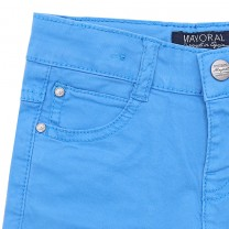 Blue Twill Short