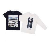Retro Cars Long and Short Sleeve T-shirts (2 Pack)