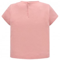 Pink Graphic Printed T-shirt