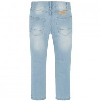 Medium Wash Blue Skinny Fit Jeggings