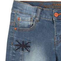 Denim Trouser with Patch