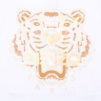 White Golden Tiger T-Shirt