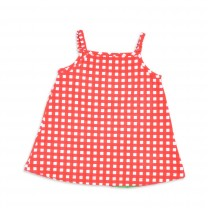 Red Check Watermelon Dress