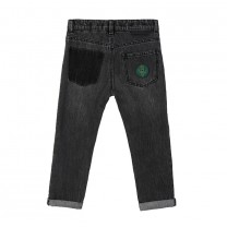 Boys Grey Astronout Denim Jeans