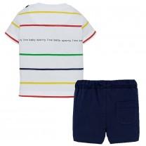 Multicolored Anchor T-shirt Set