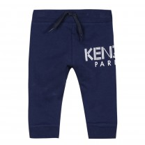 Navy Logo Sweat Pants