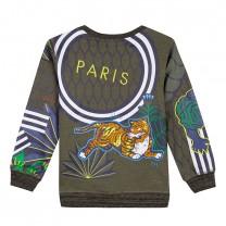 Tiger and Leopard Sweatshirt