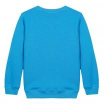 Blue Tiger Cotton Sweatshirt