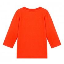 Baby Boys Orange Cotton Top