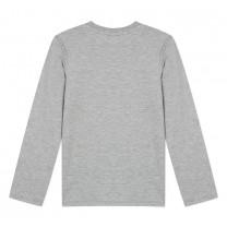 Grey Cotton Tiger Top