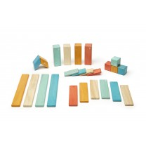 Sunset Classics Magnetic Wooden Blocks (24 pieces set)