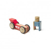 Daredevil Stunt Team Magnetic Wooden Blocks
