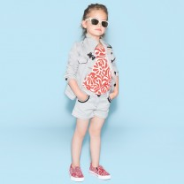 White Stripes Pocket Shorts (6-12 years)