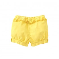 Yellow Balloon Shorts