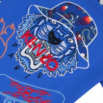 Blue Tiger With Hat Sweatshirt
