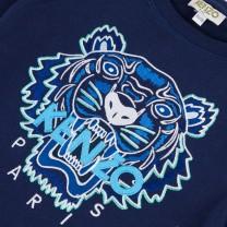 Dark Blue Tiger Sweatshirt