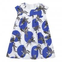 Blue Jahnaelle Pheonix Dress
