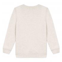 Ivory Printed Logo Sweatshirt
