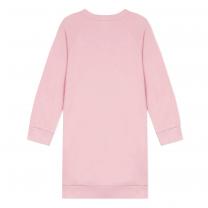 Pink Ombre Logo Dress