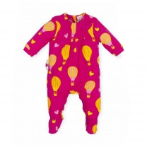 Pink Hot Air Balloon Babysuit