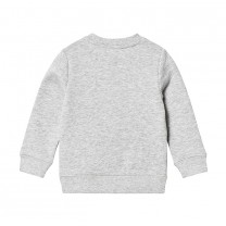 Boys Grey Rocketship Cotton Sweatshirt