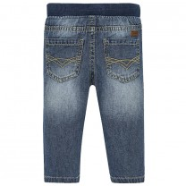Lightweight Mid-blue Jeans