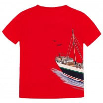 Red Boat Graphic T-Shirt