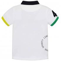 White Flags Polo Shirt