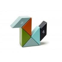 Nelson Prism Pocket Pouch Magnetic Wooden Blocks