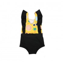 Yellow Ulla - Summer Bathing Swimsuit