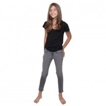 Charcoal Wax Coated Jeggings