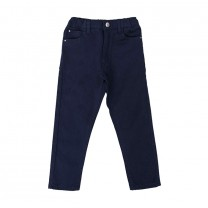 Boys Dark Blue Denim Pants