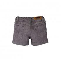 Dark Grey Denim Short Pants