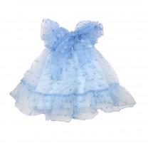 Blue Gracey Whale Dress