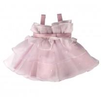 Lavender Ruffled Dress