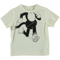 Chuckle Ivory Cotton T-Shirt