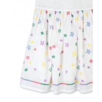 Stars Cotton Skirt