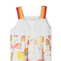 Paint Rainbow Cotton Dress