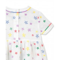 Stars Cotton Dress